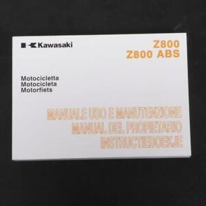 Manuell Von Eigner Benutzer origine Kawasaki Motorrad 800 Z 99976-1737 Angebot