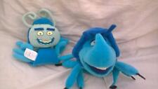 2 x Disney Bugs Life Characters DIM Bean Bag Soft Toy and TUCK & ROLL g25