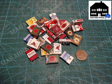 (1x) Miniature Replica. Cigarrete pack. 1/6 Scale. Lucky, Armored Forces,Winston