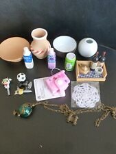 Doll Miniature Props: Kitchen Items, Tiny Blank Notebook and Other Random Items