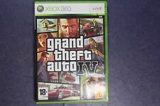 GRAND THEFT AUTO IV 4 GTA XBOX 360 PAL ANGLAIS ENGLISH COMPLETE