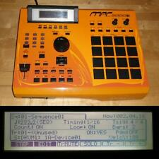 CUSTOM Akai MPC 2000XL SE2 w/ORANGE LEDs BLACK PADS 1GB CF Drive MAX RAM RARE