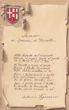 7025) CAVALLERIA, LANCIERI DI VERCELLI, INNO DEL REGGIMENTO.