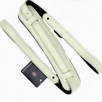 Guitar Strap Shoulder Pad Genuine Leather Cowhide Bass Electric Acoustic Durable