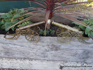 Lovely Large Pair Brass French Vintage Cannons Ref T14/73