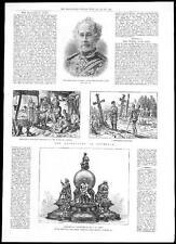 1885 Campo Marshall Lord strathnairn-roumelia bulgara Scene (138)