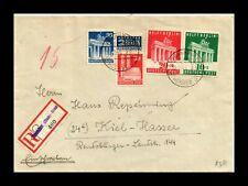 Dr Jim Stamps Registered Frankfurt Germany Multi Franked European Size Cover