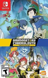 Digimon Story: Cyber Sleuth Complete Edition Nintendo Switch Brand New Sealed
