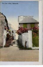 (Ga8626-477) Tin Can Alley, Bermuda c1930 VG