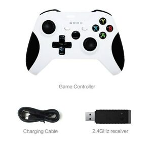 2.4GHz Wireless Controller For Xbox One Microsoft Windows 10 Bluetooth Black US
