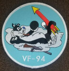 US Navy Fighter Squadron Military Patch VF-94 'Tough Kitties'