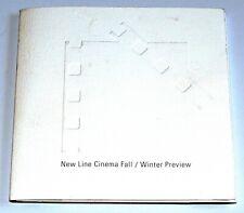 New Line Cinema Fall/Winter Invitation Press Kit, 5 Preview Cards, CD LOTR 2003