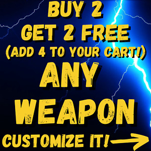 (PS4/5 PC XBOX) - Borderlands 3 WEAPONS - BUY 2 GET 2 FREE