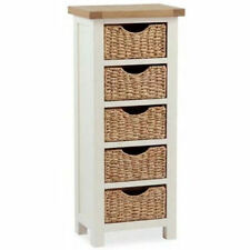 Solid Wood Contemporary Tallboy Chests of Drawers