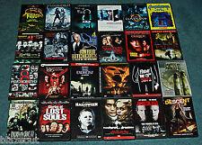Bulk Lot Wholesale 24 DVD's Horror, Thriller, Scary, Suspense, Videos DVDs
