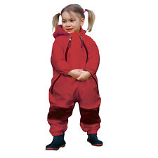 Muddy Buddy all in One Waterproof Rainsuit Coverall Red 3T / 15.5kg