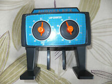 La vendita!!! AFX Tomy 50 LAP COUNTER pista, ottime cond. AURORA,, Tyco, Micro HO