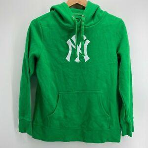 Fanatics Hoodie Men's Size M Green New York Yankees MLB Baseball Pullover