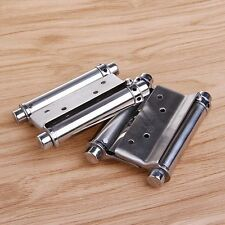 "2Pcs Durable 3"" Inch Double Action Spring Hinge Saloon Cafe Door Swing"