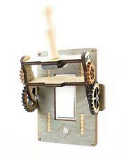Green Tree Jewelry Steampunk Decora Rocker Throw Switch Grey Wood Light Switch