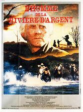 Affiche 120x160cm L'HOMME DE LA RIVIERE D'ARGENT 192 George Miller - Douglas TBE