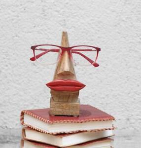 Handmade Red Lip Shaped Spectacles Eyeglasses Sunglasses Holder