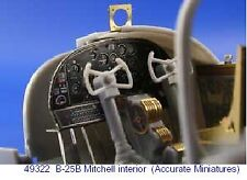 Eduard 1/48 B-25B Mitchell interior PRE-PAINTED IN COLOUR! # 493