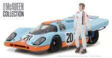 Steve McQueen Golf Porsche 917k et Figurine Greenlight 86435 1 43 Echelle