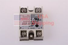 24V-380V SSR-40DA 3-32V DC-AC Solid State Relay Module Temperature Controller