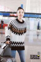 Erdem x H&M Cream Knitted Mohair Jumper Sweater - Size L Large Men Unisex -RARE!