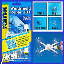 Auto Windshield Repair Kit Glass Resin Window Car Cracks Chips Scratch Repairing