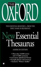 The Oxford New Essential Thesaurus (Paperback or Softback)