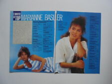 Marianne Basler Kim Wilde Status Quo Wang Chung David Bowie clippings France