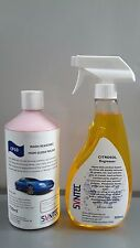 Syntec car product twin pack, featuring cp10 car polish and citrosol tar remover