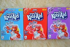 Sugar Free Kool-Aid Grape, Cherry or Tropical Punch     ***6 Packets Per Box***