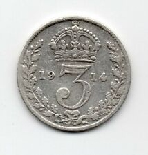 Great Britain - Engeland - 3 Pence 1914