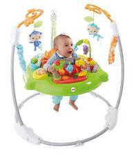 Fisher-Price Roaring Rainforest Jumperoo Activity Exersaucer Baby Walker Frame