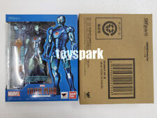 TAMASHII Comic-Con Exclusive S.H.Figuarts IRONMAN Mark Mk 3 Ⅲ Blue Stealth Color