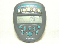 1997 RADICA PLAYERS CHOICE BLACKJACK - REGULAR - FACE UP - 2 IN 1 HANDHELD GAME