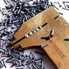 "300pcs 5mm, 0.2"", 7/32"" Vintage Antique Silver Ag Patina Escutcheon Pins Nails"