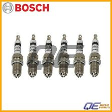 6 Spark Plug 4417 Bosch Platinum+4 For: BMW E34 E36 E39 E46 318i 323is 330xi