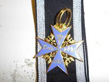 50043  WW1 Blue Blauer Max German Prussian Pour le Merite Imperial GD16