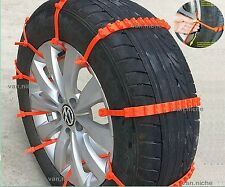 Universal Anti-skid Tire Chains for Car Sedan SUV Snow Winter Emergency Driving