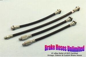 BRAKE HOSE SET Lincoln Continental Mark III 1958 Late - After build 1-3-1958