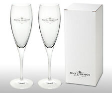 2 X Boxed  Moet Chandon Champagne Glasses / Flutes