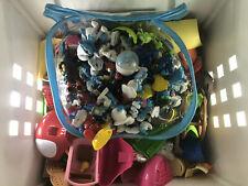 The Smurfs Mega Blocks And Over 50 FIGURES !!! BUNDLE!!!
