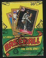 1987 O-Pee-Chee OPC Baseball BBCE Sealed UNOPENED Wax Box Barry Bonds RC Yr