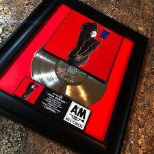 Janet Jackson CONTROL Silver Record Music Award Album Disc