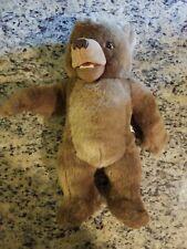 """Maurice Sendaks Little Bear Talks Laughs Kidpower Plush Toy Doll 1998 VTG 16"""""""