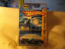 Hot Wheels 2007 FIRST EDITION ELITE SUPER RARE 5-HOLE Batmobile